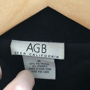 AGB Jackets & Coats - AGB black lightweight soft zippered jacket